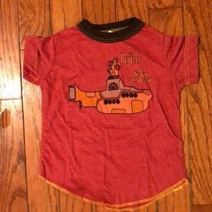 Infant/toddler Beatles shirt sleeves shirt